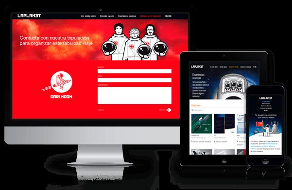 Página web de Laplanet