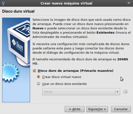 disco duro virtual