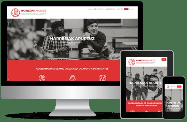 Proyecto de desarrollo de web harresiak