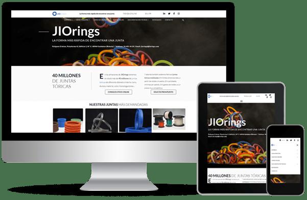 Proyecto de desarrollo de web de jiorings del año 2020