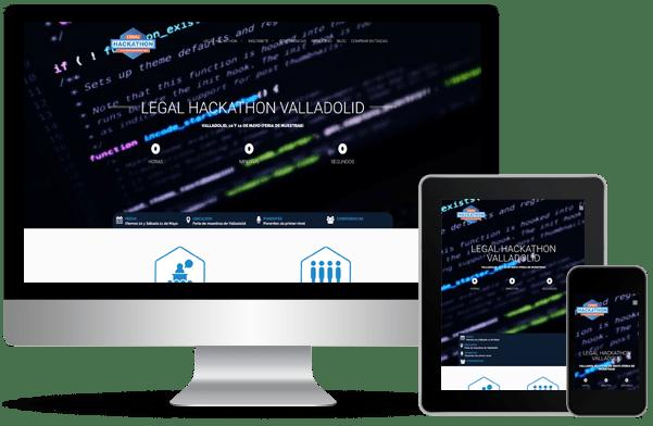 Proyecto de desarrollo de web legal hackathon