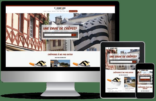 Proyecto de desarrollo de web ti-krampouezh